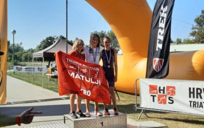 Triatlon klub Zadar ima državnu prvakinju, Korina Babara zlatna u Zagrebu!