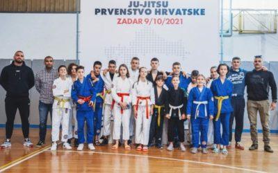 Ju jitsu prvenstvo Hrvatske u dvorani Mocire, Ju jitsu klub Zadar ekipno drugi