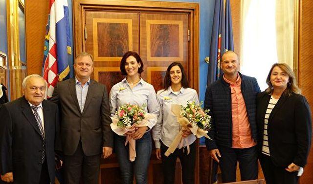 Jedriličarke Enia i Mihaela nakon europske medalje putuju po svjetsku